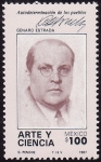 Stamps America - Mexico -  GENARO ESTRADA