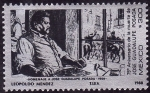 Stamps Mexico -  homenaje a JOSE GUADALUPE POSADA