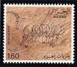 Sellos de Africa - Argelia -  Tassili N' Ajjer (Pinturas rupestres)