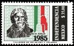 Stamps Mexico -  INDEPENDENCIA-Jose M. Morelos