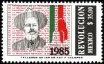 Stamps Mexico -  REVOLUCION-Francisco(Pancho) Villa