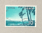 Stamps Japan -  Lago