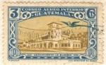Stamps Guatemala -  Aeropuerto Aurora