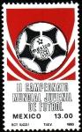 Sellos del Mundo : America : México : II Campeonato Mundial de Fútbol Juvenil