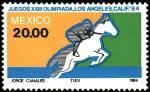 Sellos del Mundo : America : México : Olimpiadas de los Angeles