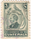 Stamps Guatemala -  Jose Batres Montufas 1940