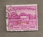 Stamps Pakistan -  Pabellón