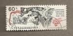Stamps Czechoslovakia -  50 Aniv Escena eslovaca