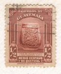 Stamps : America : Guatemala :  Vaso de Guastatoya Maya