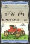 Stamps Oceania - Tuvalu -  funafuti tuvalu - vehículo 1903 cadillac model. USA