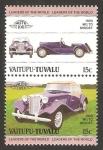 Sellos del Mundo : Oceania : Tuvalu : vaitupu tuvalu - vehículo 1950 MG TD midget