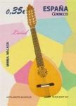 Stamps : Europe : Spain :  ESPAÑA 2011 4628 Sello Nuevo Instrumentos Musicales Laud Mimma Malaga Espana Spain Espagne Spagna Sp