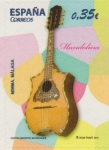 Stamps Europe - Spain -  ESPAÑA 2011 4631 Sello Nuevo Instrumentos Musicales Mandolina Mimma Malaga Espana Spain Espagne Spag