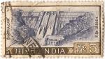 Stamps India -  Presa de Bahkra