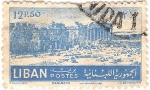 Stamps Asia - Lebanon -  Acropolis de Baalbeck