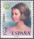 Sellos del Mundo : Europa : España : ESPAÑA 1975_2303 Doña Sofía, Reyes de España. Scott 1928