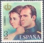 Sellos del Mundo : Europa : España :  ESPAÑA 1975_2304 Don Juan Carlos I y Doña Sofía, Reyes de España. Scott 1929