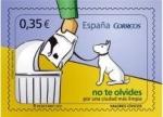 Sellos de Europa - España -  ESPAÑA 2011 4639 Sello Nuevo Valores Cívicos Por una Ciudad Limpia Espana Spain Espagne Spagna Spanj