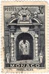 Stamps Europe - Monaco -  Porte du Palais