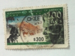 Sellos de America - Chile -  alexander von humbold en america