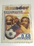 Sellos de America - Ecuador -  alberto spencer