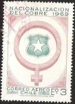 Stamps Chile -  NACIONALIZACION DEL COBRE