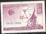 Sellos de America - Chile -  LONGOVILO PRIMERA ESTACION COMERCIAL LATINOAMERICANA DE COMUNICACIONES POR SATELITE