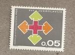 Sellos de Europa - Yugoslavia -  Cruz roja