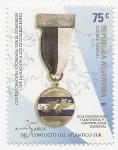 Stamps Argentina -  A 25 Años del Conflicto del Atlántico Sur