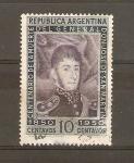 Stamps Argentina -  JOSÈ   DE   SAN   MARTÌN