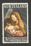 Stamps : Oceania : New_Zealand :  Navidad, la virgen y el niño