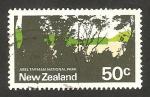 Stamps : Oceania : New_Zealand :  parque nacional abel tasman