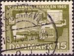 Sellos de Europa - Dinamarca -  Handelsskolen