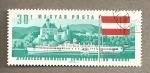 Sellos de Europa - Hungría -  Comisión del Danubio