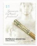 Sellos de America - Argentina -  Transmisión del Mando Presidencial