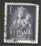 Stamps Spain -  Virgen de la Almudena