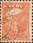 Stamps America - Peru -  El Azucar.