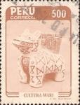 Stamps Peru -  Cultura Wari.