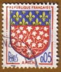 Stamps France -  Escudo de Armas -AMIEN