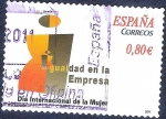 Stamps : Europe : Spain :  Día Internacional de la Mujer