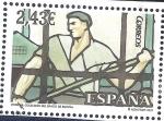 Stamps : Europe : Spain :  Vidriera