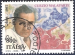 Stamps : Europe : Italy :  Curzio Malaparte
