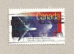 Sellos de America - Canadá -  Aviación civil internacional