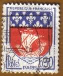 Stamps France -  Escudo de Armas -PARIS