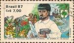Stamps Brazil -  400 Años del Tratado Descriptivo del Brasil de Gabriel Soares de Sousa.