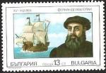 Stamps Europe - Bulgaria -  NAVEGANTES - FERNANDO DE MAGALLANES