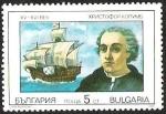 Sellos del Mundo : Europa : Bulgaria : NAVEGANTES - CRISTOBAL COLON