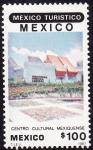 Stamps Mexico -  Mexico turístico-México