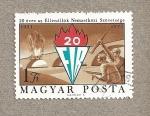 Sellos de Europa - Hungría -  20 FIR