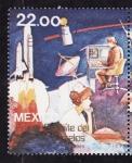 Stamps Mexico -  Lanzamiento del primer satélite de comunicaciones
